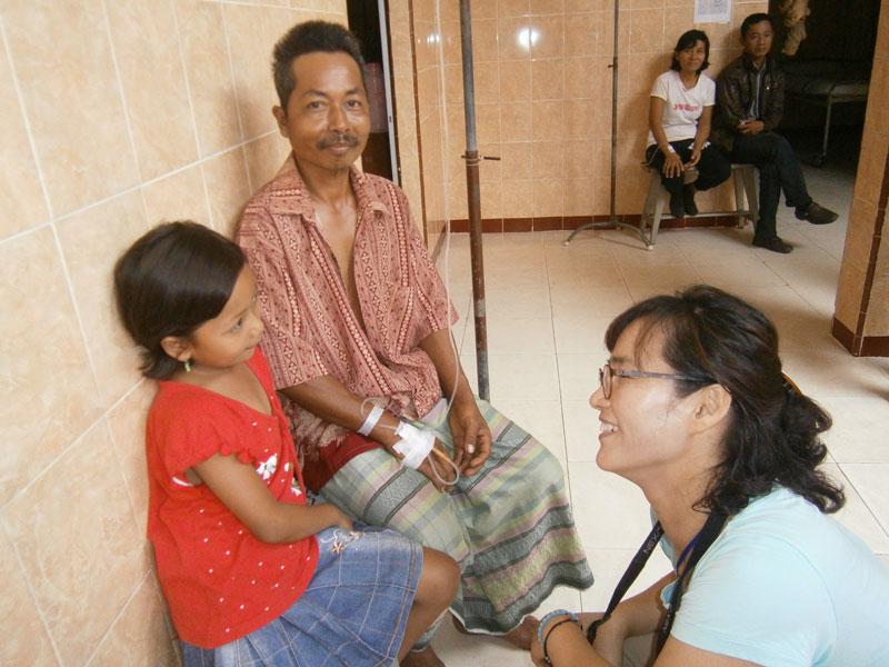 Pelayanan Korea ditempat rumah pemulihan orang gila
